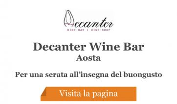Decanter Wine Bar - Aosta