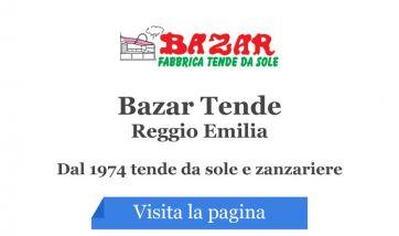 Tende Da Sole Reggio Emilia.Bazar Tende Reggio Emilia Eventi Sagre E Ricette Fiere