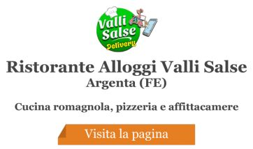Ristorante Pizzeria Bar Alloggi Valli Salse - Argenta (FE)