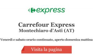 Carrefour Express Supermercato - Montechiaro d'Asti (AT)